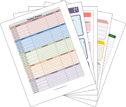 Personal Planner Pack